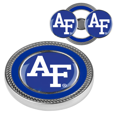 Air Force Falcons - Challenge Coin / 2 Ball Markers - Linkswalkerdirect