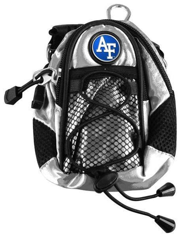 Air Force Falcons - Mini Day Pack  -  Silver - Linkswalkerdirect