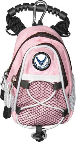 US Air Force - Mini Day Pack  -  Pink - Linkswalkerdirect