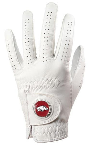 Arkansas Razorbacks - Cabretta Leather Golf Glove - Linkswalkerdirect