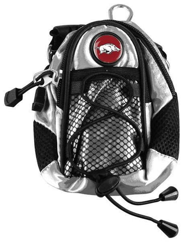 Arkansas Razorbacks - Mini Day Pack  -  Silver - Linkswalkerdirect