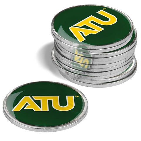 Arkansas Tech University - 12 Pack Ball Markers - Linkswalkerdirect