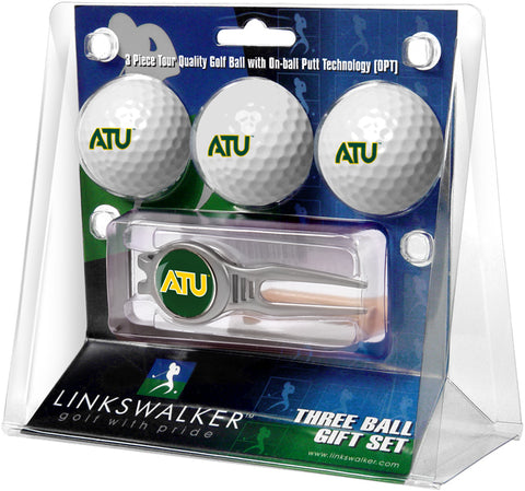 Arkansas Tech University - Kool Tool 3 Ball Gift Pack - Linkswalkerdirect