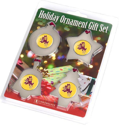 Arizona State Sun Devils - Ornament Gift Pack - Linkswalkerdirect