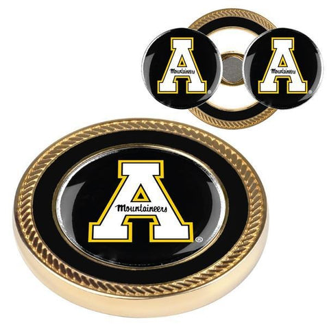 Appalachian State Mountaineers - Challenge Coin / 2 Ball Markers - Linkswalkerdirect