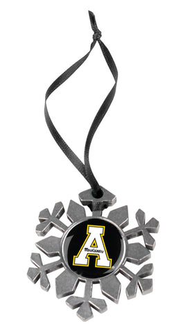 Appalachian State Mountaineers - Snow Flake Ornament - Linkswalkerdirect