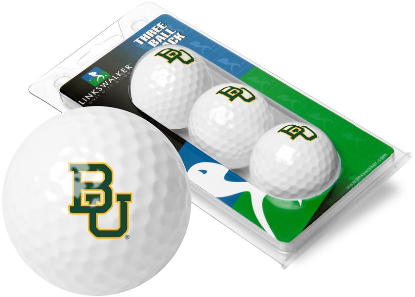 Baylor Bears - 3 Golf Ball Sleeve