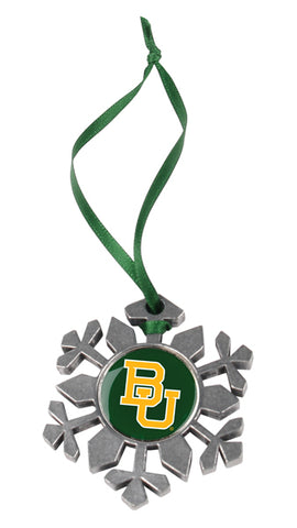 Baylor Bears - Snow Flake Ornament - Linkswalkerdirect