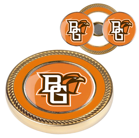 Bowling Green Falcons - Challenge Coin / 2 Ball Markers