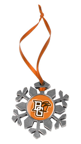 Bowling Green Falcons - Snow Flake Ornament - Linkswalkerdirect