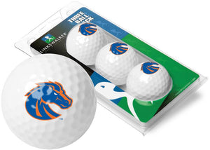 Boise State Broncos - 3 Golf Ball Sleeve