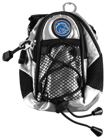 Boise State Broncos - Mini Day Pack  -  Silver - Linkswalkerdirect