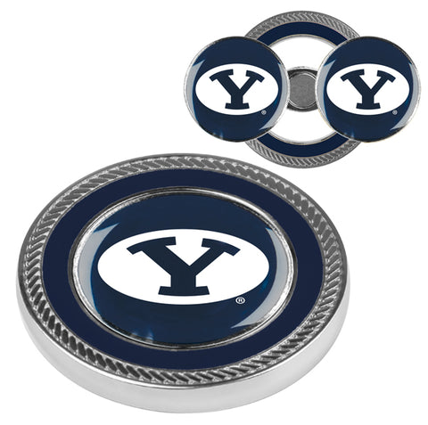 Brigham Young Univ. Cougars - Challenge Coin / 2 Ball Markers