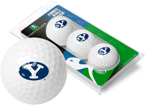 Brigham Young Univ. Cougars - 3 Golf Ball Sleeve