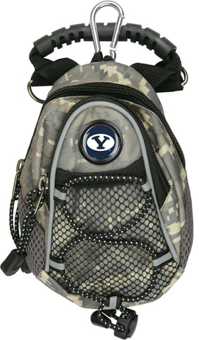 Brigham Young Univ. Cougars - Mini Day Pack  -  Camo - Linkswalkerdirect