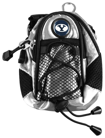 Brigham Young Univ. Cougars - Mini Day Pack  -  Silver - Linkswalkerdirect