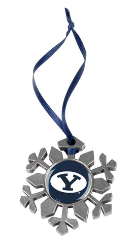 Brigham Young Univ. Cougars - Snow Flake Ornament - Linkswalkerdirect