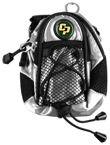California Polytechnic State University - Mini Day Pack  -  Silver - Linkswalkerdirect