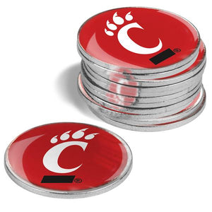 Cincinnati Bearcats - 12 Pack Ball Markers
