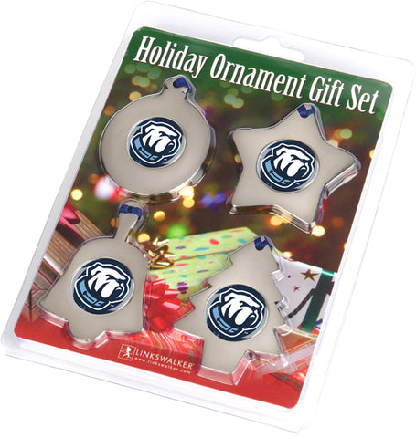 Citadel Bulldogs - Ornament Gift Pack - Linkswalkerdirect
