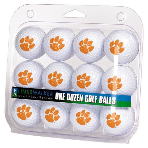 Clemson Tigers - Dozen Golf Balls - Linkswalkerdirect