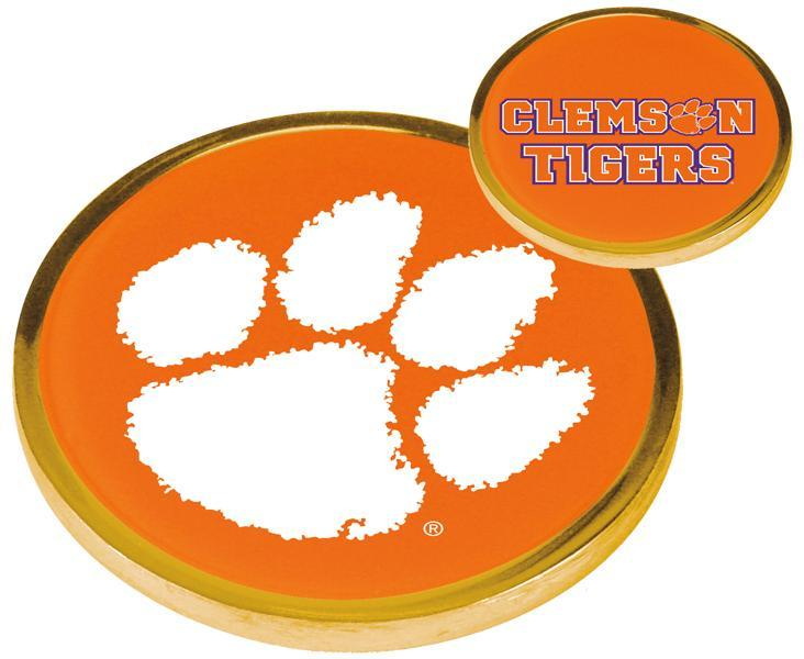 Clemson Tigers - Flip Coin - Linkswalkerdirect