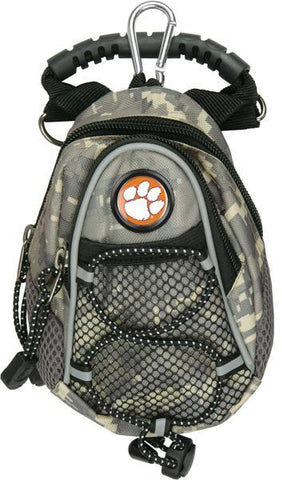 Clemson Tigers - Mini Day Pack  -  Camo - Linkswalkerdirect