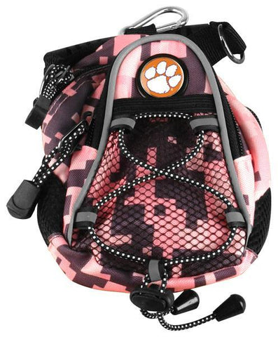 Clemson Tigers - Mini Day Pack  -  Pink Digi Camo - Linkswalkerdirect