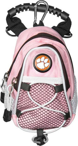 Clemson Tigers - Mini Day Pack  -  Pink - Linkswalkerdirect