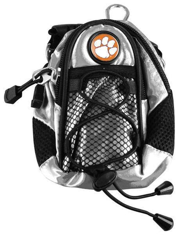 Clemson Tigers - Mini Day Pack  -  Silver - Linkswalkerdirect