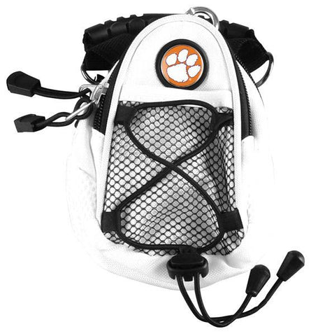 Clemson Tigers - Mini Day Pack  -  White - Linkswalkerdirect