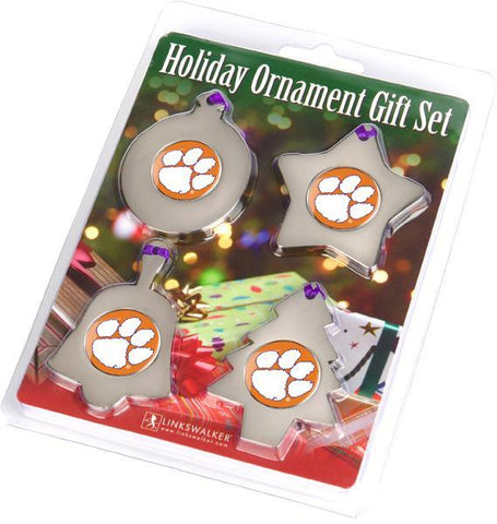 Clemson Tigers - Ornament Gift Pack - Linkswalkerdirect