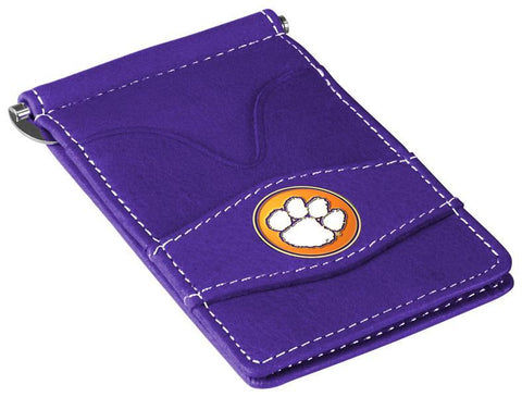 Clemson Tigers - Players Wallet - Purple - Linkswalkerdirect