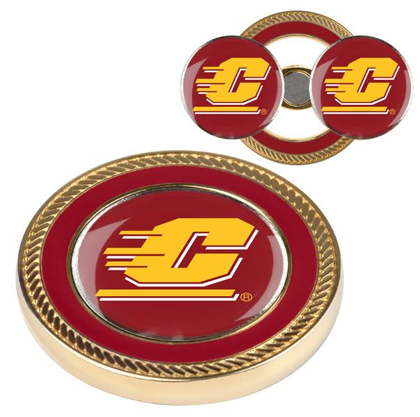 Central Michigan Chippewas - Challenge Coin / 2 Ball Markers