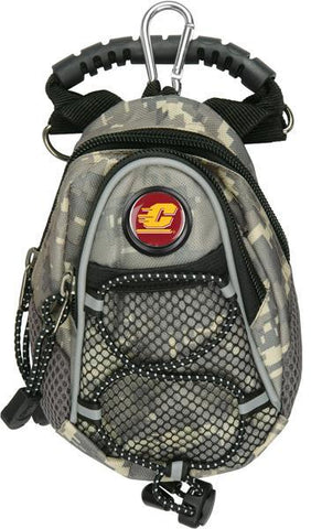 Central Michigan Chippewas - Mini Day Pack  -  Camo - Linkswalkerdirect