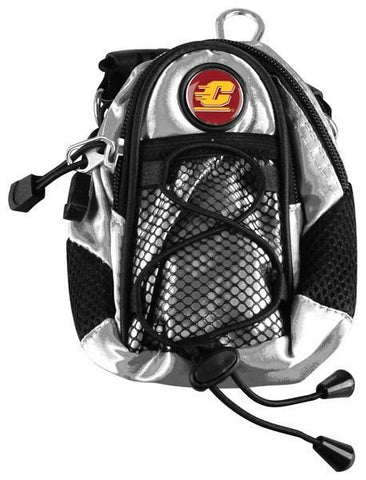 Central Michigan Chippewas - Mini Day Pack  -  Silver - Linkswalkerdirect