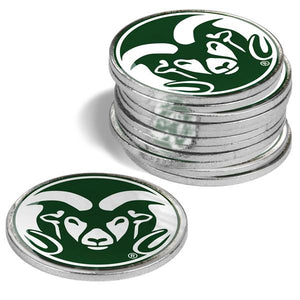 Colorado State Rams - 12 Pack Ball Markers