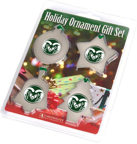 Colorado State Rams - Ornament Gift Pack - Linkswalkerdirect