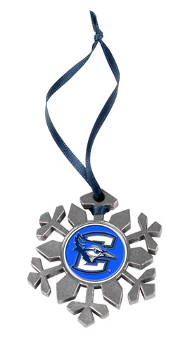 Creighton University Bluejays - Snow Flake Ornament - Linkswalkerdirect