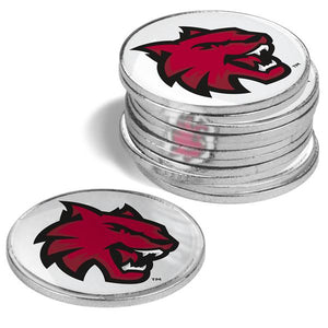 Central Washington Wildcats - 12 Pack Ball Markers