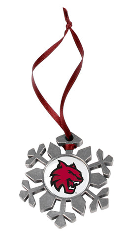 Central Washington Wildcats - Snow Flake Ornament - Linkswalkerdirect