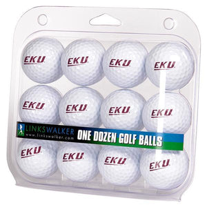 Eastern Kentucky Colonels - Dozen Golf Balls - Linkswalkerdirect