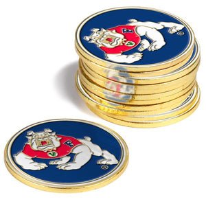 Fresno State Bulldogs - 12 Pack Ball Markers