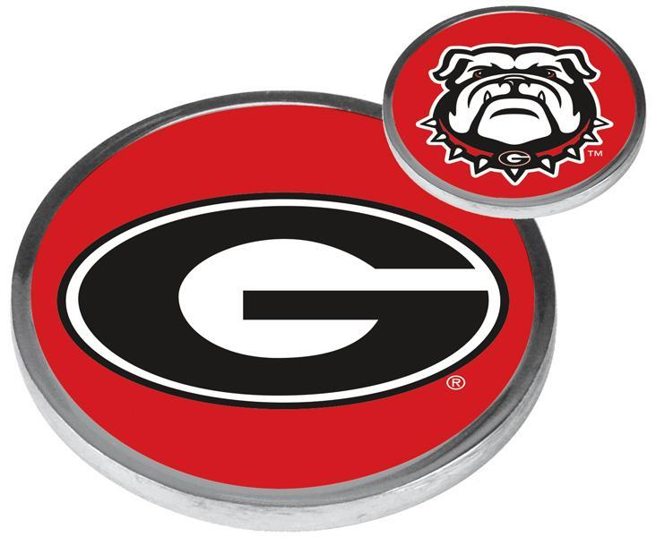 Georgia Bulldogs - Flip Coin - Linkswalkerdirect