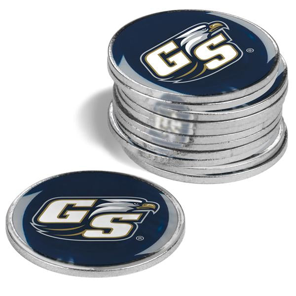 Georgia Southern Eagles - 12 Pack Ball Markers