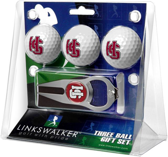 Hampden Sydney College - 3 Ball Gift Pack with Hat Trick Divot Tool
