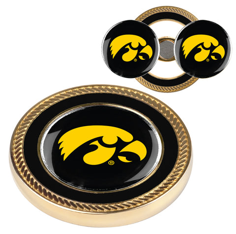 Iowa Hawkeyes - Challenge Coin / 2 Ball Markers