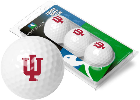 Indiana Hoosiers - 3 Golf Ball Sleeve