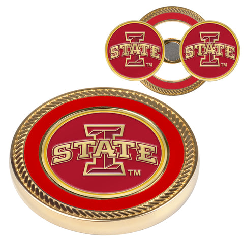 Iowa State Cyclones - Challenge Coin / 2 Ball Markers