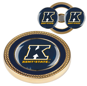 Kent State Golden Flashes - Challenge Coin / 2 Ball Markers